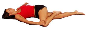 Lateral Hip Stretch Supine